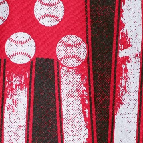 IMAGE ONE ルイビル カーディナルス ベースボール Tシャツ 【 LOUISVILLE CARDINALS BASEBALL FLAG COMFORT COLORS TSHIRT RED 】 メンズファッション トップス カットソー 送料無料