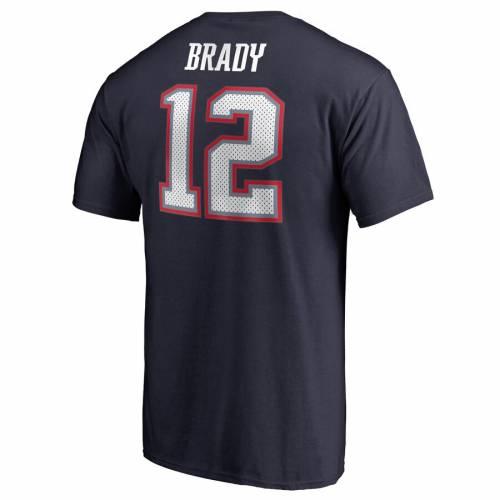 NFL PRO LINE BY FANATICS BRANDED ペイトリオッツ レシーバー Tシャツ 紺 ネイビー メンズファッション トップス カットソー メンズ 【 Tom Brady New England Patriots Super Bowl Liii Bound Eligible Receiver Name An