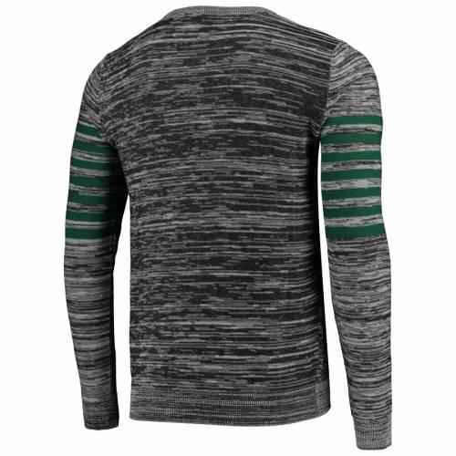 FOCO ジェッツ ニット ヘンリー スリーブ Tシャツ 灰色 グレー グレイ メンズファッション トップス カットソー メンズ 【 New York Jets Marled Knit Henley Long Sleeve T-shirt - Gray 】 Gray
