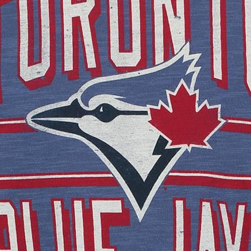 '47 トロント 青 ブルー Tシャツ 【 BLUE TORONTO JAYS SCRUM TSHIRT ROYAL 】 メンズファッション トップス カットソー 送料無料