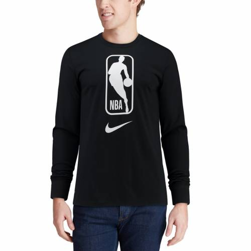 ナイキ NIKE ロゴ チーム スリーブ パフォーマンス Tシャツ 黒 ブラック メンズファッション トップス カットソー メンズ 【 Nba Logo Team 31 Long Sleeve Performance T-shirt - Black 】 Black