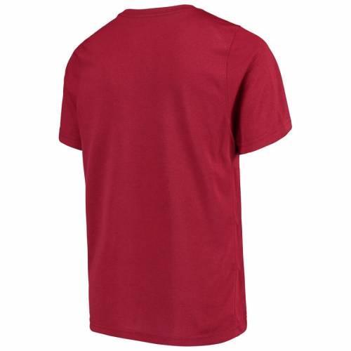 ナイキ NIKE 子供用 レジェンド パフォーマンス Tシャツ 赤 カーディナル キッズ ベビー マタニティ トップス ジュニア 【 Arkansas Razorbacks Youth Legend Performance T-shirt - Cardinal 】 Cardinal