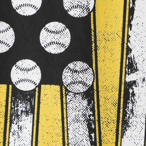 IMAGE ONE ベースボール Tシャツ 【 IOWA HAWKEYES BASEBALL FLAG COMFORT COLORS TSHIRT BLACK 】 メンズファッション トップス カットソー 送料無料