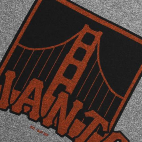 ナイキ NIKE ジャイアンツ Tシャツ 【 SAN FRANCISCO GIANTS MARLED TSHIRT HEATHERED GRAY 】 メンズファッション トップス カットソー 送料無料