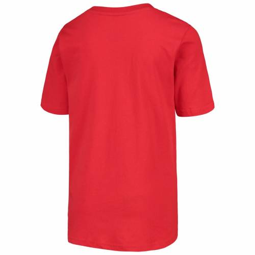 OUTERSTUFF ポートランド 子供用 Tシャツ 赤 レッド キッズ ベビー マタニティ トップス ジュニア 【 Portland Trail Blazers Youth Mascot Ice Break T-shirt - Red 】 Red