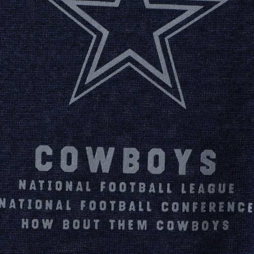 ナイキ NIKE ダラス カウボーイズ パフォーマンス ヘンリー Tシャツ メンズファッション トップス カットソー メンズ 【 Dallas Cowboys Performance Henley 3/4-sleeve T-shirt - Heathered Gray/navy 】 Heathere