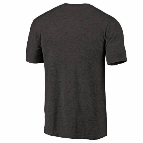 NFL PRO LINE BY FANATICS BRANDED レイダース Tシャツ 黒 ブラック メンズファッション トップス カットソー メンズ 【 [customized Item] Las Vegas Raiders Personalized Flanker Tri-blend T-shirt - Black 】 Black