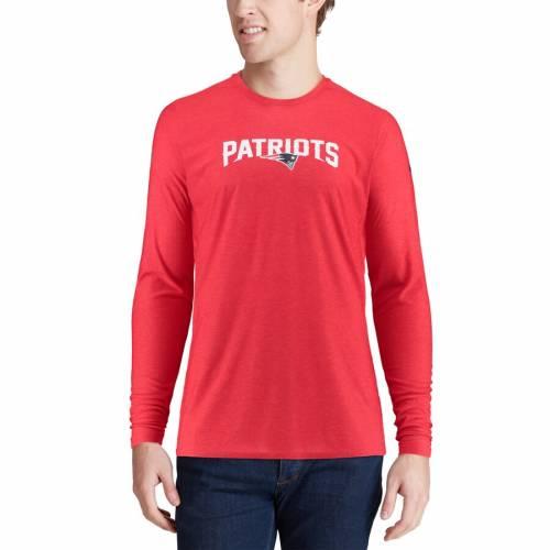 ナイキ NIKE ペイトリオッツ サイドライン スリーブ Tシャツ 赤 レッド メンズファッション トップス カットソー メンズ 【 New England Patriots Sideline Player Long Sleeve T-shirt - Red 】 Red