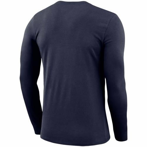 ナイキ NIKE バージニア レジェンド スリーブ パフォーマンス Tシャツ 紺 ネイビー メンズファッション トップス カットソー メンズ 【 West Virginia Mountaineers Bowtie Arch Legend Long Sleeve Performan