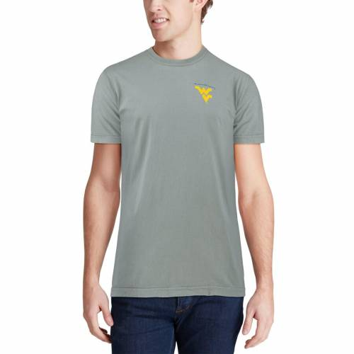 IMAGE ONE バージニア Tシャツ 【 WEST VIRGINIA MOUNTAINEERS CANOE LOCAL COMFORT COLORS TSHIRT GRAY 】 メンズファッション トップス カットソー 送料無料