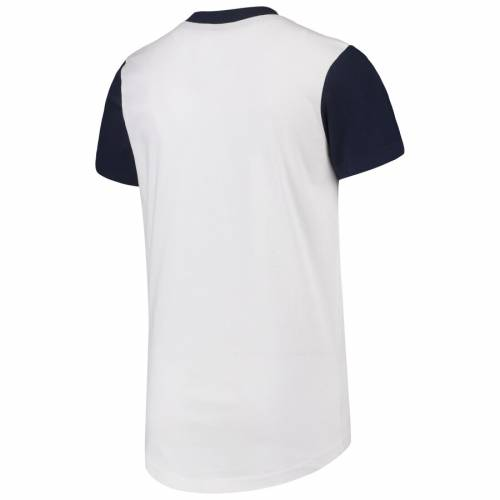 OUTERSTUFF ボストン 赤 レッド 子供用 ブイネック Tシャツ キッズ ベビー マタニティ トップス ジュニア 【 Boston Red Sox Youth Heavy Hitter V-neck T-shirt - White/navy 】 White/navy