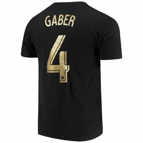スポーツブランド カジュアル ファッション トップス ギフト 半袖 アディダス ADIDAS ロサンゼルス Tシャツ 黒色 ブラック TSHIRT OMAR カットソー NUMBER BLACK GABER PLAYER バーゲンセール LAFC メンズファッション NAME