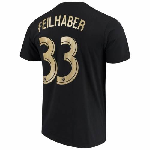 スポーツブランド カジュアル ファッション トップス 半袖 保証 アディダス ADIDAS ロサンゼルス Tシャツ 黒色 ブラック TSHIRT FEILHABER NUMBER メンズファッション NAME BENNY PLAYER 売れ筋ランキング カットソー BLACK LAFC
