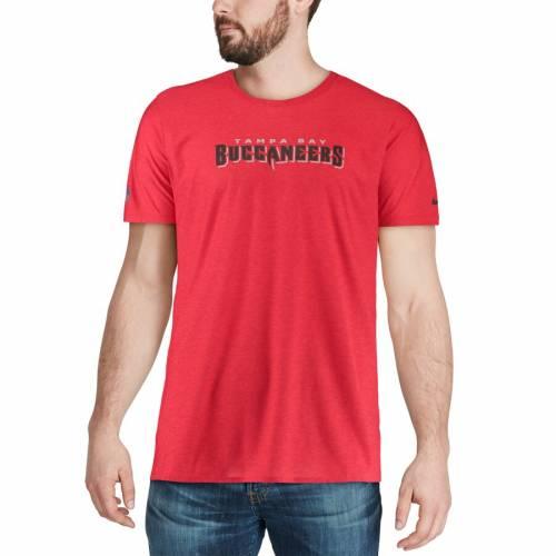 ナイキ NIKE バッカニアーズ サイドライン Tシャツ 赤 レッド メンズファッション トップス カットソー メンズ 【 Tampa Bay Buccaneers Sideline Player T-shirt - Red 】 Red