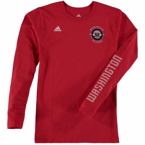 アディダス ADIDAS ワシントン ウィザーズ 子供用 Tシャツ キッズ ベビー マタニティ ジュニア 【 Washington Wizards Youth 3-in-1 Combo T-shirt Set - Gray/red 】 Gray/red