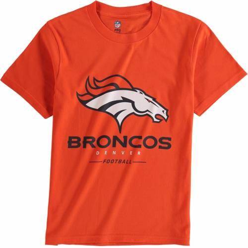 NFL PRO LINE BY FANATICS BRANDED デンバー ブロンコス プロ 子供用 チーム Tシャツ 橙 オレンジ キッズ ベビー マタニティ トップス ジュニア 【 Denver Broncos Nfl Pro Line Youth Team Lockup T-shirt - Orange 】