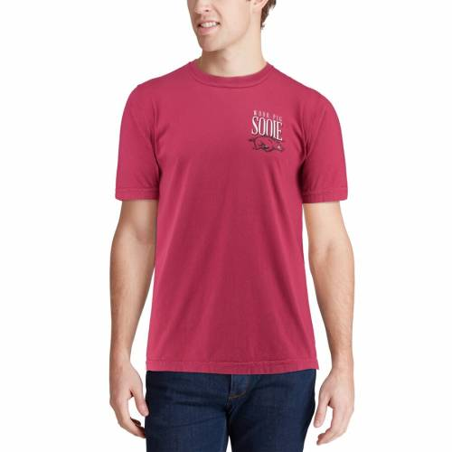 IMAGE ONE Tシャツ 【 ARKANSAS RAZORBACKS WELCOME TO THE SOUTH COMFORT COLORS TSHIRT CARDINAL 】 メンズファッション トップス カットソー 送料無料