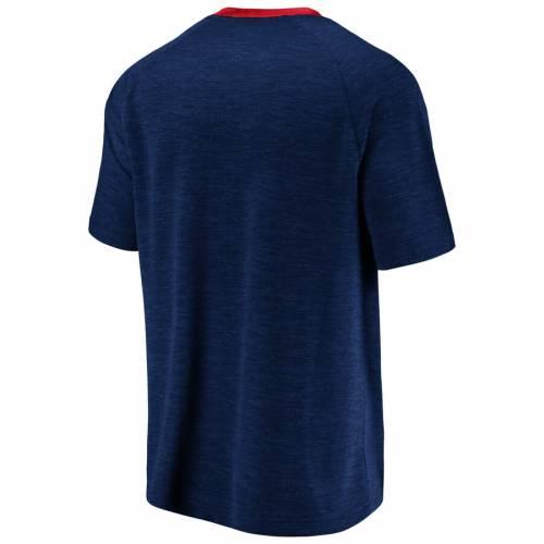 マジェスティック MAJESTIC クリーブランド インディアンズ Tシャツ メンズファッション トップス カットソー メンズ 【 Cleveland Indians Back To Business T-shirt - Navy/red 】 Navy/red
