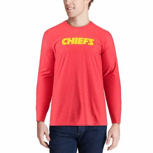 ナイキ NIKE カンザス シティ チーフス サイドライン スリーブ Tシャツ 赤 レッド メンズファッション トップス カットソー メンズ 【 Kansas City Chiefs Sideline Player Long Sleeve T-shirt - Red 】 Red