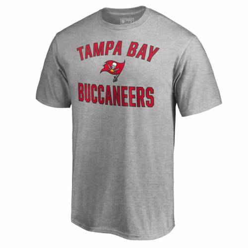 NFL PRO LINE BY FANATICS BRANDED バッカニアーズ プロ ビクトリー Tシャツ 【 VICTORY TAMPA BAY BUCCANEERS ARCH TSHIRT RED HEATHER GRAY 】 メンズファッション トップス カットソー 送料無料