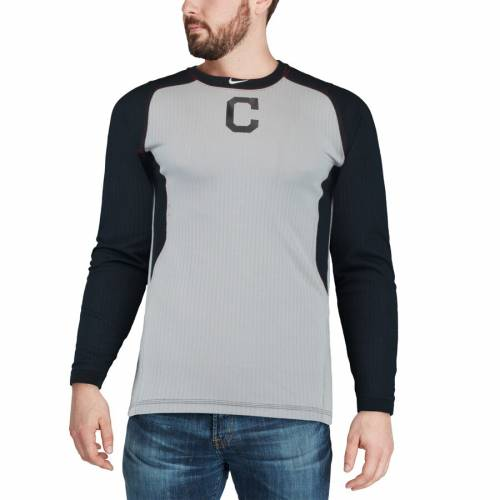 ナイキ NIKE クリーブランド インディアンズ オーセンティック コレクション ゲーム スリーブ Tシャツ メンズファッション トップス カットソー メンズ 【 Cleveland Indians Authentic Collection G