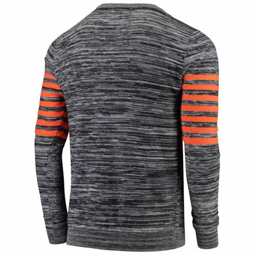 FOCO デンバー ブロンコス ニット ヘンリー スリーブ Tシャツ 灰色 グレー グレイ メンズファッション トップス カットソー メンズ 【 Denver Broncos Marled Knit Henley Long Sleeve T-shirt - Gray 】 Gray