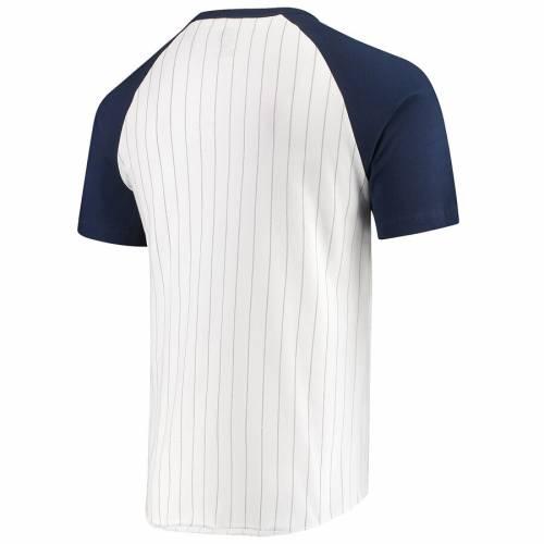 マジェスティック MAJESTIC マジェスティック ボストン 赤 レッド Tシャツ 白 ホワイト 【 RED WHITE MAJESTIC BOSTON SOX EVERYTHING IN ORDER DOMESTIC PINSTRIPE TSHIRT 】 メンズファッション トップス Tシャツ