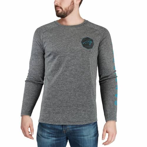 ナイキ NIKE カロライナ パンサーズ ギア スタジアム スリーブ Tシャツ 灰色 グレー グレイ メンズファッション トップス カットソー メンズ 【 Carolina Panthers Fan Gear Stadium Long Sleeve T-shirt -