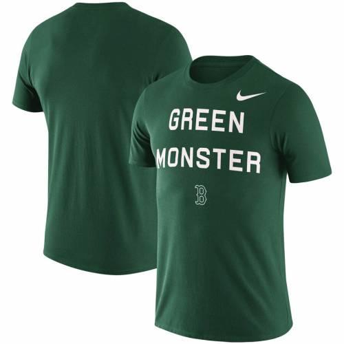 ナイキ NIKE ボストン 赤 レッド Tシャツ 緑 グリーン 【 RED GREEN NIKE BOSTON SOX MLB MONSTER LOCAL PHRASE TSHIRT 】 メンズファッション トップス Tシャツ カットソー