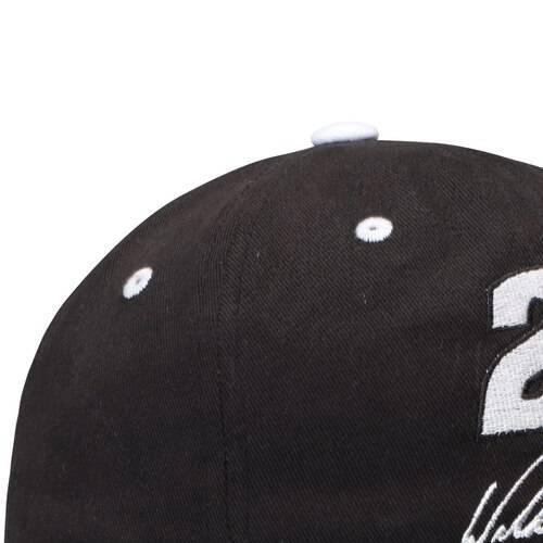CHECKERED FLAG Tシャツ 黒 ブラック バッグ キャップ 帽子 メンズキャップ メンズ 【 William Byron Hat And T-shirt Combo - Black 】 Black
