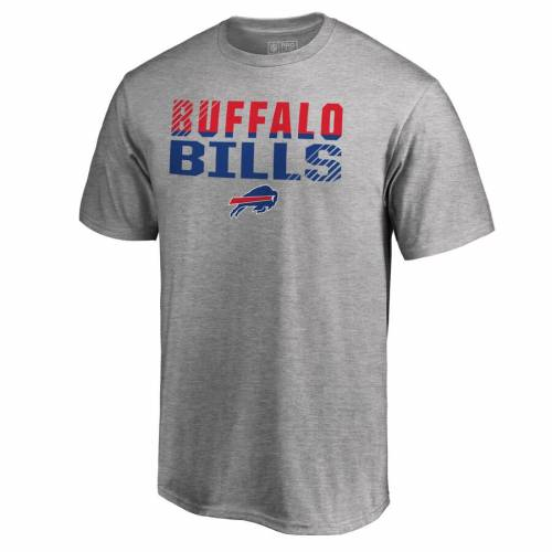 NFL PRO LINE BY FANATICS BRANDED プロ バッファロー ビルズ コレクション Tシャツ ヘザー 灰色 グレー グレイ 【 NFL HEATHER GRAY PRO LINE BY FANATICS BRANDED BUFFALO BILLS ICONIC COLLECTION FADE OUT BIG AND TALL TSHIRT