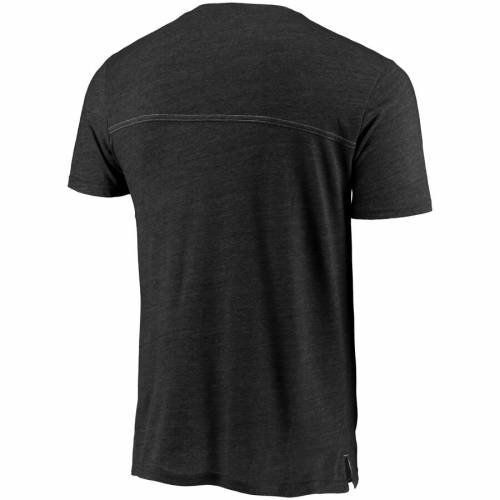 BOXERCRAFT テンプル Tシャツ チャコール メンズファッション トップス カットソー メンズ 【 Temple Owls Quarterback Pocket Tri-blend T-shirt - Heathered Charcoal 】 Heathered Charcoal