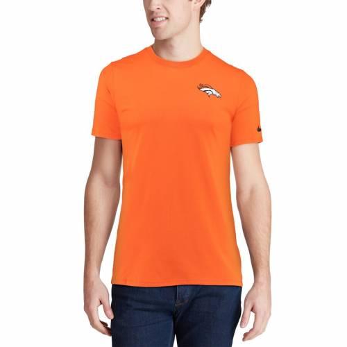 ナイキ NIKE デンバー ブロンコス パフォーマンス Tシャツ 橙 オレンジ 【 ORANGE NIKE DENVER BRONCOS PERFORMANCE CREW CHAMP TSHIRT 】 メンズファッション トップス Tシャツ カットソー