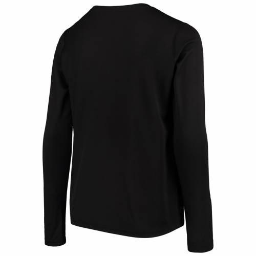 アディダス ADIDAS インパクト 子供用 スリーブ Tシャツ 黒 ブラック キッズ ベビー マタニティ トップス ジュニア 【 Montreal Impact Youth Flip Throw Long Sleeve T-shirt - Black 】 Black