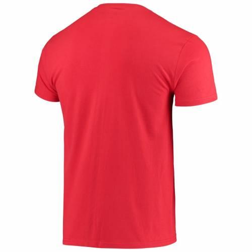 THE VICTORY ウィスコンシン Tシャツ 2.0 【 WISCONSIN BADGERS TOKYO DACHI TSHIRT RED 】 メンズファッション トップス カットソー 送料無料