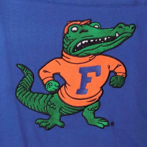 スターター STARTER フロリダ フィールド ジャージ スリーブ Tシャツ メンズファッション トップス カットソー メンズ 【 Florida Gators Field Jersey Long Sleeve T-shirt - Royal/orange 】 Royal/orange