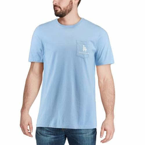 VINEYARD VINES ドジャース Tシャツ 青 ブルー メンズファッション トップス カットソー メンズ 【 Los Angeles Dodgers Boat T-shirt - Light Blue 】 Light Blue