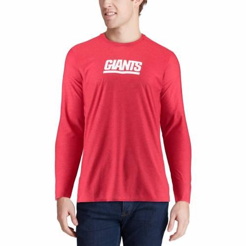 ナイキ NIKE ジャイアンツ サイドライン スリーブ Tシャツ 赤 レッド メンズファッション トップス カットソー メンズ 【 New York Giants Sideline Player Long Sleeve T-shirt - Red 】 Red