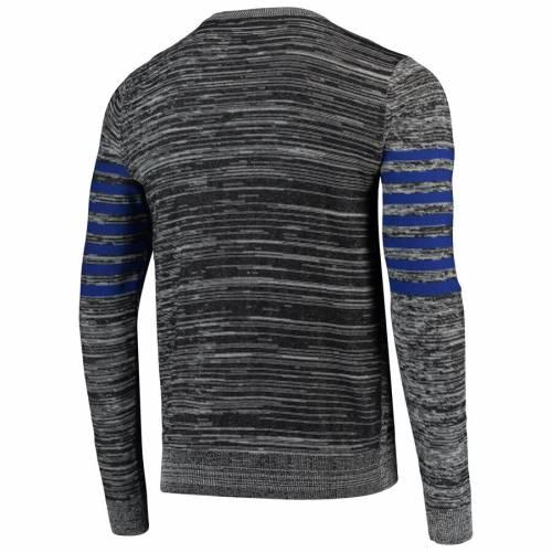 FOCO ジャイアンツ ニット ヘンリー スリーブ Tシャツ 灰色 グレー グレイ メンズファッション トップス カットソー メンズ 【 New York Giants Marled Knit Henley Long Sleeve T-shirt - Gray 】 Gray