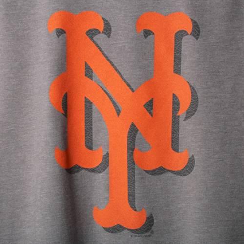 47 メッツ スピード Tシャツ 灰色 グレー グレイ メンズファッション トップス カットソー メンズ 【 New York Mets Forward Speed Up T-shirt - Gray 】 Gray
