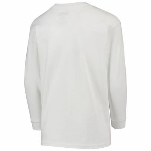 STITCHES メッツ 子供用 Tシャツ 白 ホワイト 【 WHITE STITCHES NEW YORK METS YOUTH TSHIRT COMBO SET ROYAL 】 キッズ ベビー マタニティ