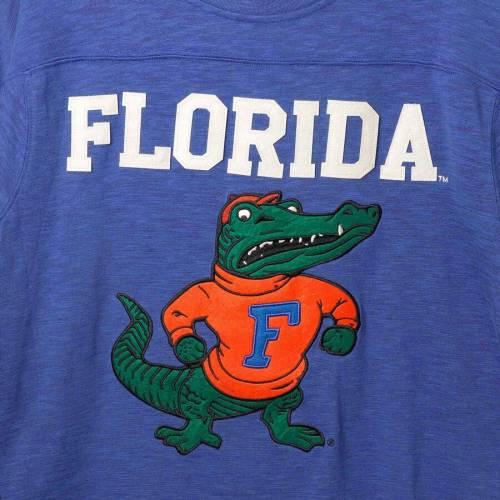 スターター STARTER フロリダ スリーブ Tシャツ メンズファッション トップス カットソー メンズ 【 Florida Gators Old School Football Long Sleeve T-shirt - Royal/orange 】 Royal/orange