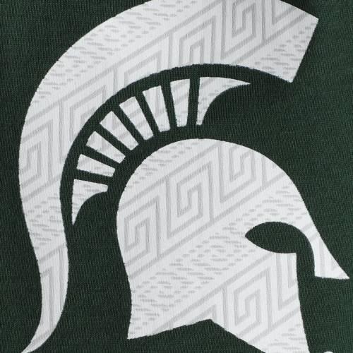 ナイキ NIKE ミシガン スケートボード 子供用 Tシャツ 緑 グリーン キッズ ベビー マタニティ トップス ジュニア 【 Michigan State Spartans Youth Student Body T-shirt - Green 】 Green