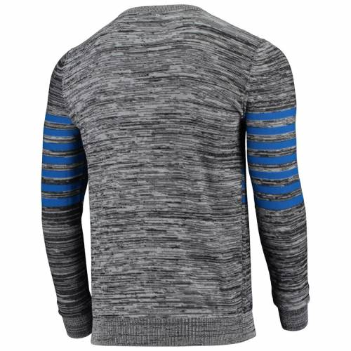 FOCO バッファロー ビルズ ニット ヘンリー スリーブ Tシャツ 灰色 グレー グレイ メンズファッション トップス カットソー メンズ 【 Buffalo Bills Marled Knit Henley Long Sleeve T-shirt - Gray 】 Gray