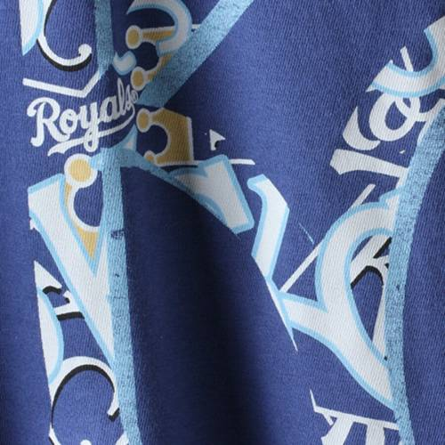 '47 カンザス シティ ロイヤルズ Tシャツ '47 【 KANSAS CITY ROYALS CROSSTOWN ALOHA FLANKER TSHIRT ROYAL 】 メンズファッション トップス Tシャツ カットソー