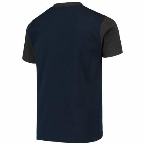 GARB スケートボード ライオンズ 子供用 ヘンリー Tシャツ 紺 ネイビー キッズ ベビー マタニティ トップス ジュニア 【 Penn State Nittany Lions Youth Reece Henley T-shirt - Navy 】 Navy