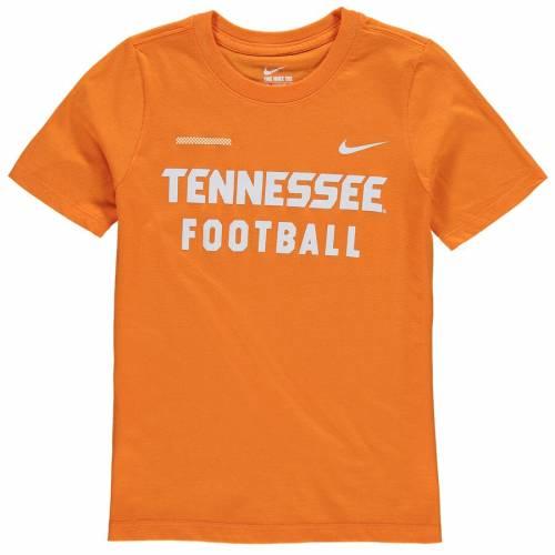 ナイキ NIKE テネシー 子供用 コア Tシャツ 橙 オレンジ キッズ ベビー マタニティ トップス ジュニア 【 Tennessee Volunteers Youth Core Facility T-shirt - Tennessee Orange 】 Tennessee Orange