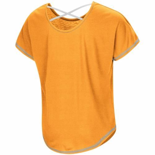 COLOSSEUM テネシー 子供用 ジャイアンツ Tシャツ 橙 オレンジ キッズ ベビー マタニティ トップス ジュニア 【 Tennessee Volunteers Girls Youth Little Giants Dolman T-shirt - Tennessee Orange 】 Tennessee Orange