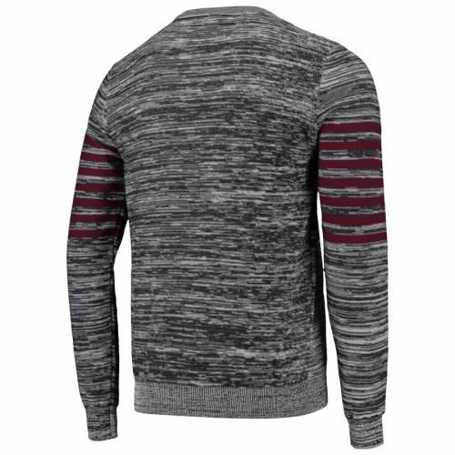 FOCO ワシントン レッドスキンズ ニット ヘンリー スリーブ Tシャツ 灰色 グレー グレイ メンズファッション トップス カットソー メンズ 【 Washington Redskins Marled Knit Henley Long Sleeve T-shirt -