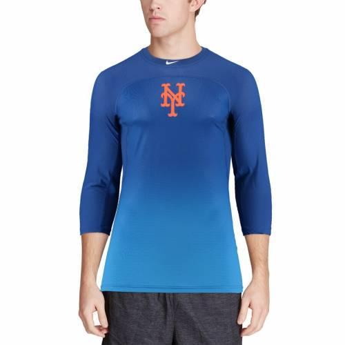 ナイキ NIKE メッツ オーセンティック コレクション ハイパークール パフォーマンス ラグラン Tシャツ メンズファッション トップス カットソー メンズ 【 New York Mets Authentic Collection Hyper